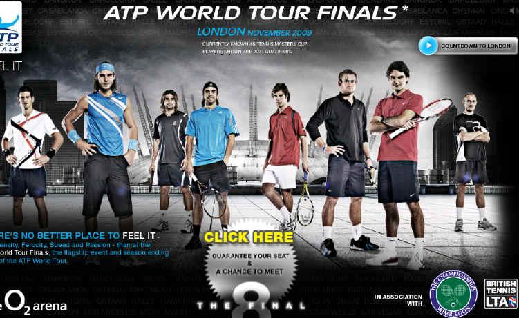 Atp World Tour Finals  Sponsor