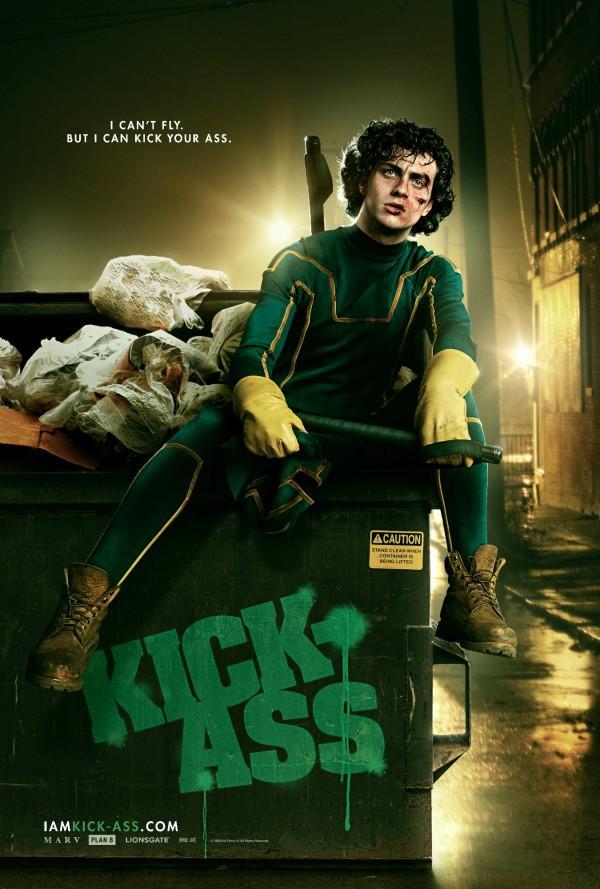 到的另類大片「Kick-Ass」。